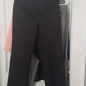 Pinstripe slacks